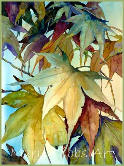 mary gibbs watercolors