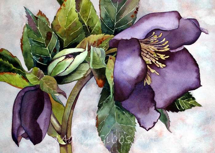 Flowers Mary Gibbs Art